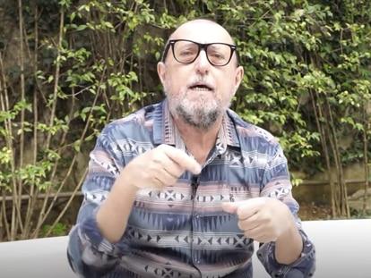 O jornalista e escritor Xico Sá, colunista do EL PAÍS desde 2015.