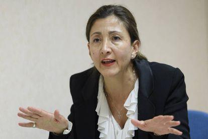 Ingrid Betancourt, nesta semana em Genebra.