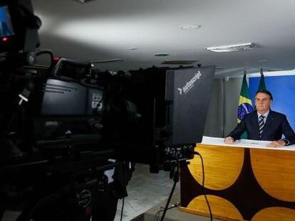 Pronunciamento do presidente Jair Bolsonaro em Rede Nacional de Rádio e Televisão.