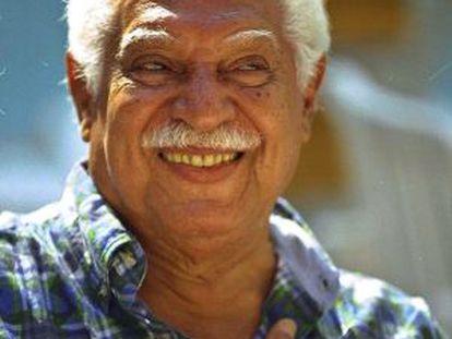 O cantor e compositor brasileiro Dorival Caymmi.