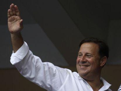 O presidente eleito do Panamá Juan Carlos Varela.