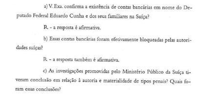 O documento enviado por Janot ao PSOL.