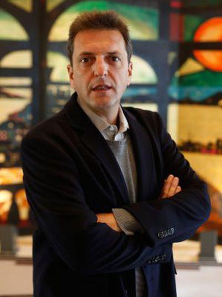 Sérgio Massa, em Madri, no sábado.
