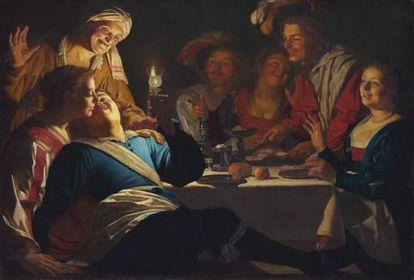'O Filho Pródigo', de Gerrit van Honthorst, 1623, na Alte Pinakothek de Munique.