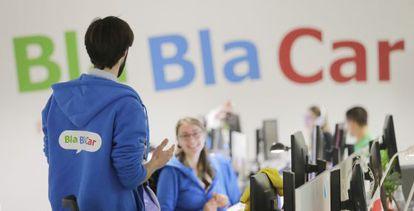 Sede do BlaBlaCar em Paris.