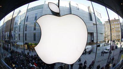 Uma loja Apple na Alemanha.
