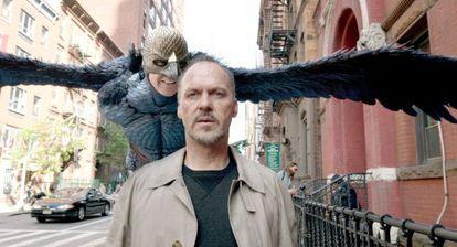 Michael Keaton, em 'Birdman'.