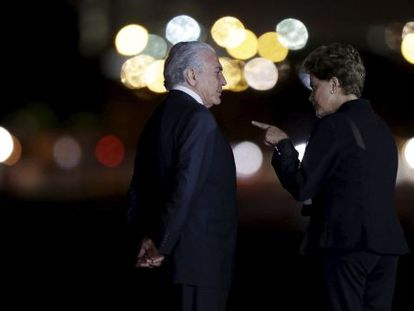 Temer e Dilma recebem Merkel, na quarta-feira.