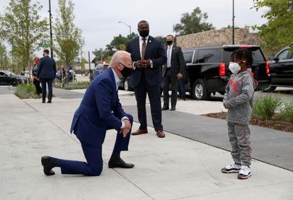 O candidato à Casa Branca, durante uma visita a Detroit, Michigan, em 9 de setembro.