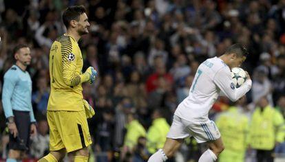 Cristiano Ronaldo igualou o marcador em cobrança de pênalti.
