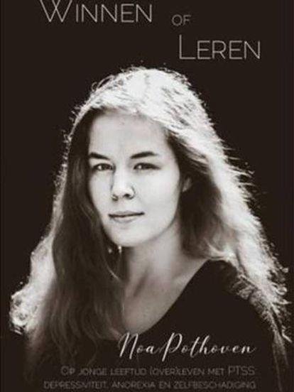 Capa do livro da adolescente Noa Pothoven, que morreu por eutanásia após anos lutando contra o trauma dos estupros que sofreu.