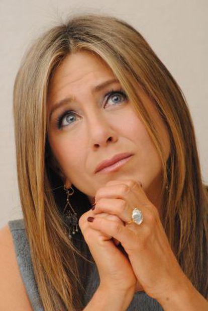 A atriz norte-americana Jennifer Aniston, no passado mês de novembro.