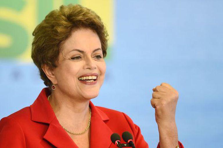 Rousseff, na semana passada em Brasília.
