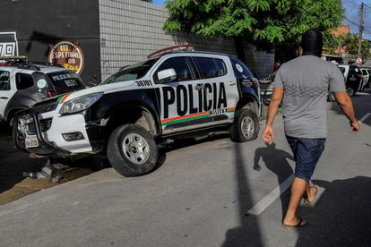 Greve de policiais militares no Ceará.