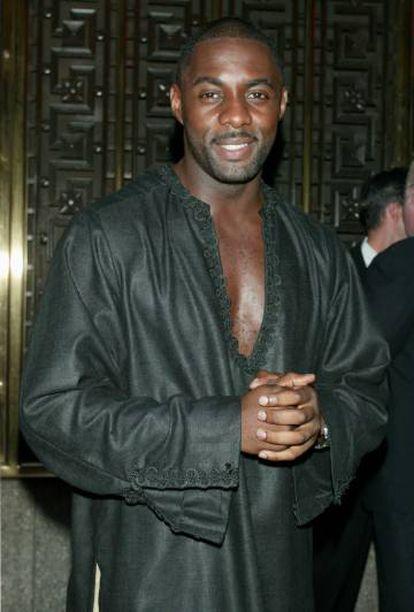 Idris Elba em Nova York em 2002.