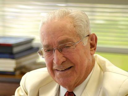 O empresário Norberto Odebrecht, enterrado no domingo 20.