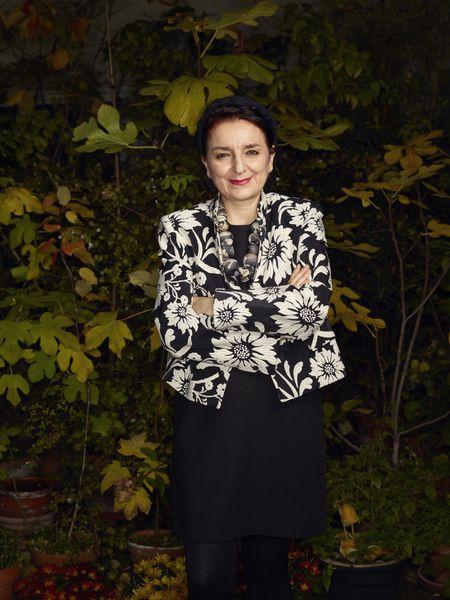 A socióloga Eva Illouz, fotografada em Paris em 21 de outubro.