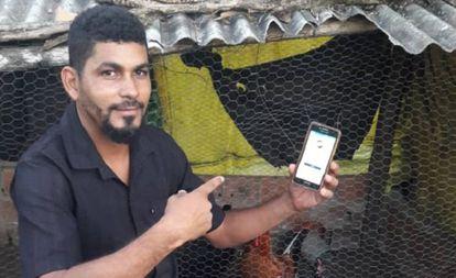 Rafael Borges, agricultor familiar de Agua Fria, Brasil.