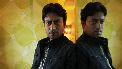 O ator Irrfan Khan em uma imagem de 2015.