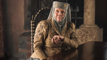 Diana Rigg, em 'Game of Thrones'.