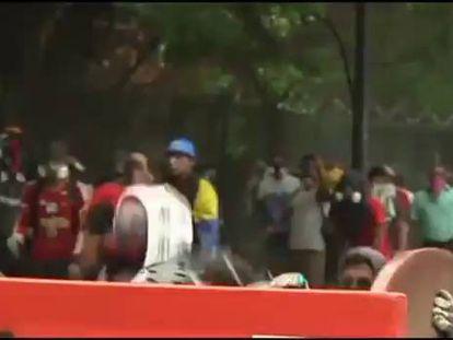 Protestas em Venezuela.