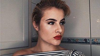 Katharina Andresen en una imagen publicada en su Instagram.