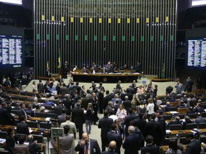 Sessão no Congresso Nacional