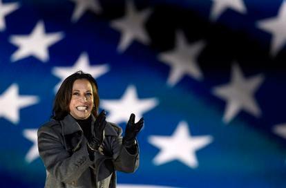 Kamala Harris, a nova vice-presidenta eleita dos EUA