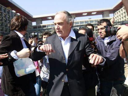 O ex-senador Carlos Bombal, do partido União Democrata Independente, investigado por sua ligação com o grupo Penta.