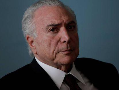 Michel Temer em Brasília.