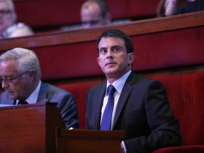 O primeiro-ministro francês, Manuel Valls.