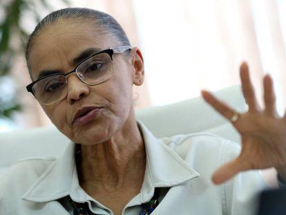Marina Silva, pré-candidata à presidência da República pela Rede
