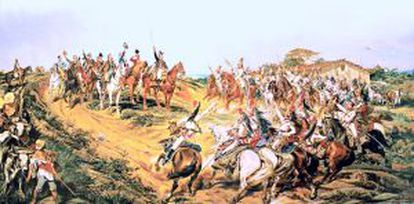 """Quadro """"O Brado do Ipiranga"""", do pintor Pedro Américo."""