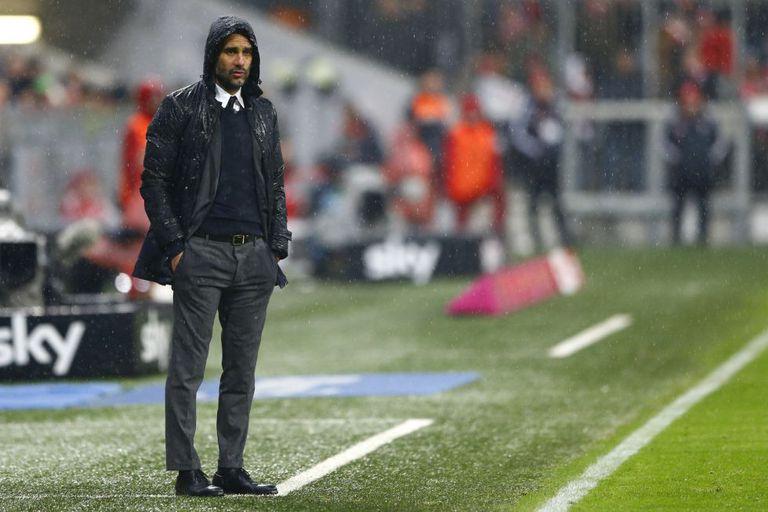 Pep Guardiola, novo treinador do Manchester City.