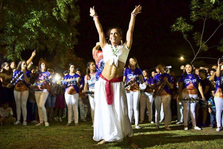 A batucada encerrou a primeira noite de festejos de San Baltasar