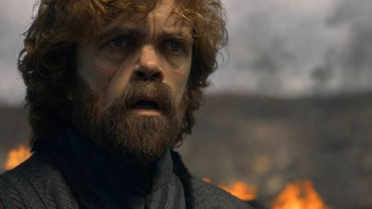 O personagem de Tyrion Lannister na temporada final de 'Game of Thrones'.