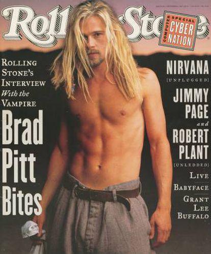 1994. O 'grunge' tinha chegado a Hollywood. Esta é uma das primeiras das milhares de capas que o ator protagonizou. Para a 'Rolling Stone'.