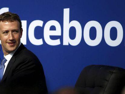 O CEO de Facebook, Mark Zuckerberg em um evento em setembro.
