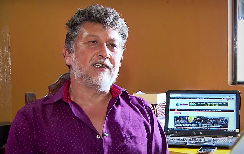 Jornalista Léo Veras foi morto a tiros na fronteira entre Brasil e Paraguai.