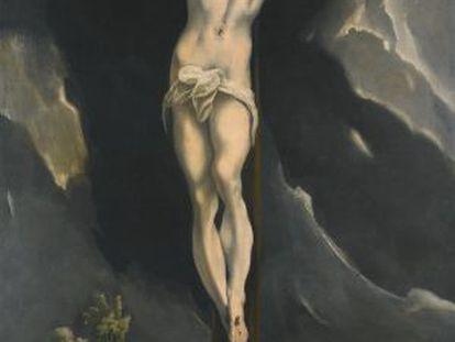 'A crucificação' de El Greco, vendida em Londres.