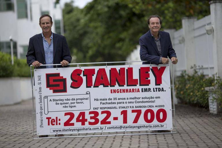 Stanley e Ricardo, donos de uma empresa do Rio, que não aceita propinas.