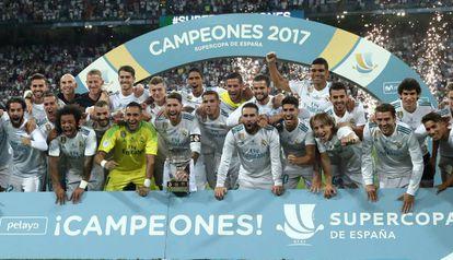 Real conquista a décima Supercopa de sua história.