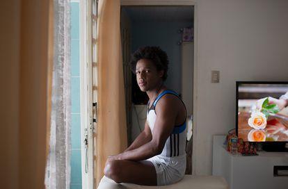 Angelo Assumpção foi dispensado após denunciar racismo na ginástica do Pinheiros.