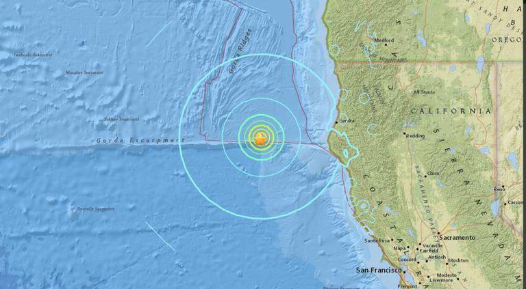Localização do terremoto, segundo o Serviço de Geologia dos EUA.