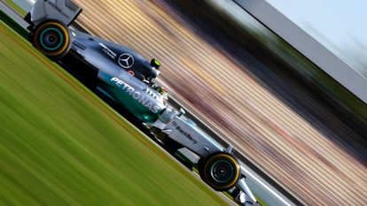 Rosberg em Hockenheim.