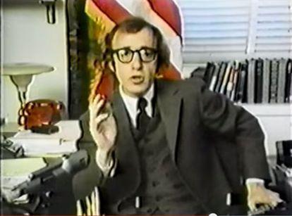 Woody Allen, no curta-metragem.