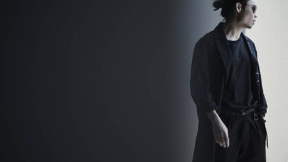 Participante da Pitti Immagine, a feira de moda masculina mais importante da Europa.