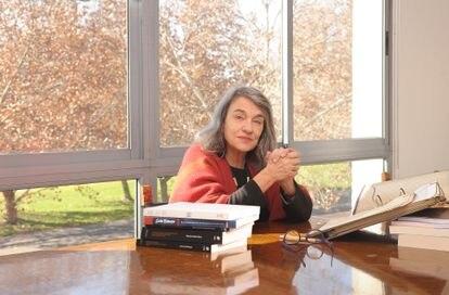 A historiadora chilena Sol Serrano, em uma fotografia de 2019
