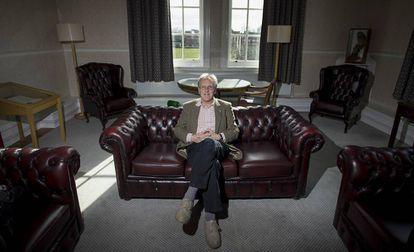 O professor Neil Mercer no Hughes Hall College, em Cambridge.