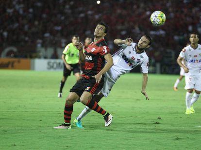 Jogo entre Flamengo e Fluminense, nesta quinta.